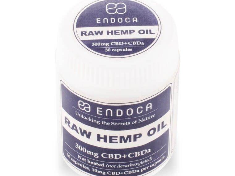 Raw CBDa capsules