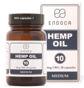 Endoca Hemp Oil capsule