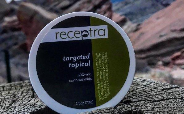 Receptra Targeted Topical cbd cream
